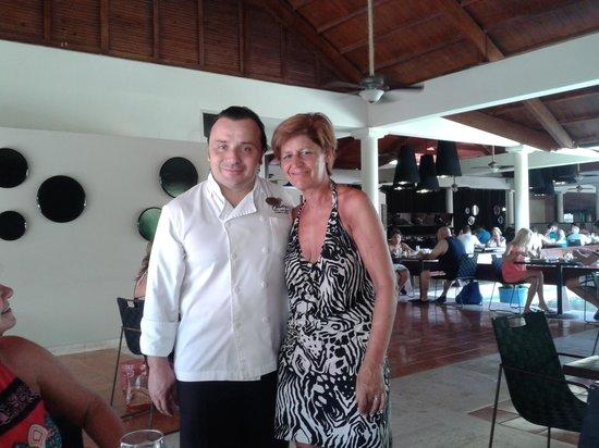 Paradisus Punta Cana: Annie en Vicenzo Napolitano