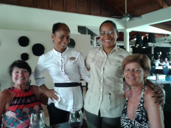 Paradisus Punta Cana Resort: annie,yvette,princesse en amelia