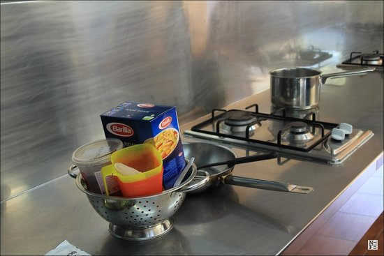 Franz Josef TOP 10 Holiday Park : Kitchen