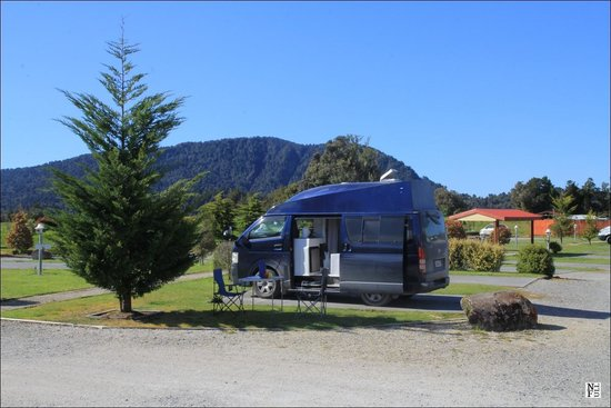 Franz Josef TOP 10 Holiday Park : Camping grounds