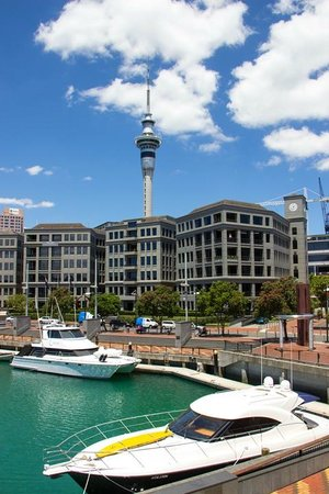 Sofitel Auckland Viaduct Harbour: View from Marina view room