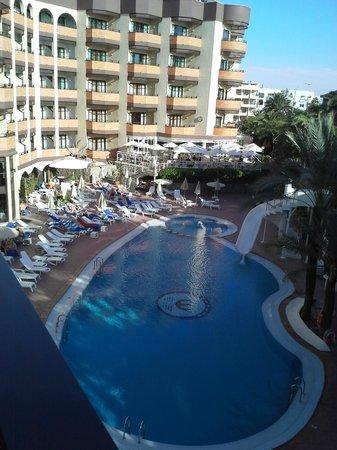 Hotel Neptuno Gran Canaria: Utsikt från balkongen
