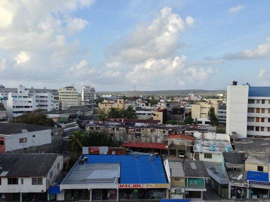Hotel Calypso: towards the city