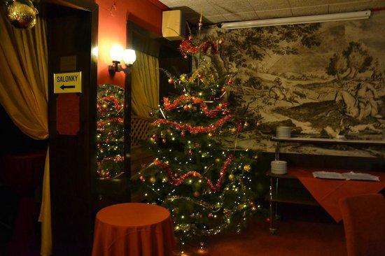 Hotel Myslivna: Christmas tree