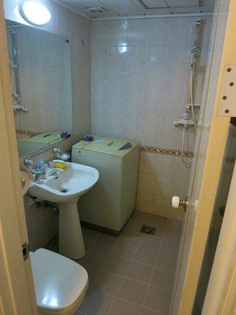 Able Hostel in Dongdaemun : 洗濯機がうれしい