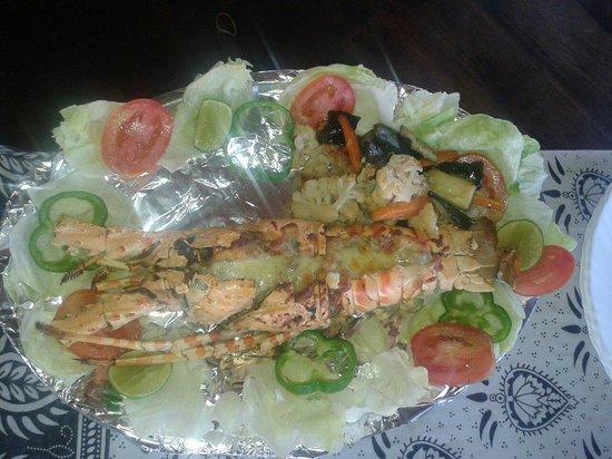 Chavda Hotel Ltd: Lobster thermidor
