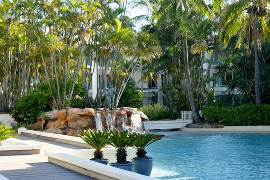 Sheraton Grand Mirage Resort, Gold Coast: Part of the grounds (lagoon)