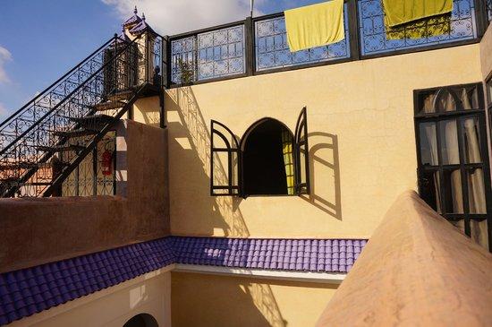 Riad Carllian: Terrasse en haut