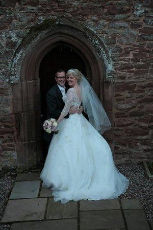 Rowton Castle: Fairytale Wedding - captured by John Poole Photography
