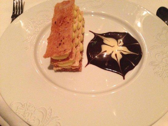 Brasserie Angelique : Mille feuille - amazing!