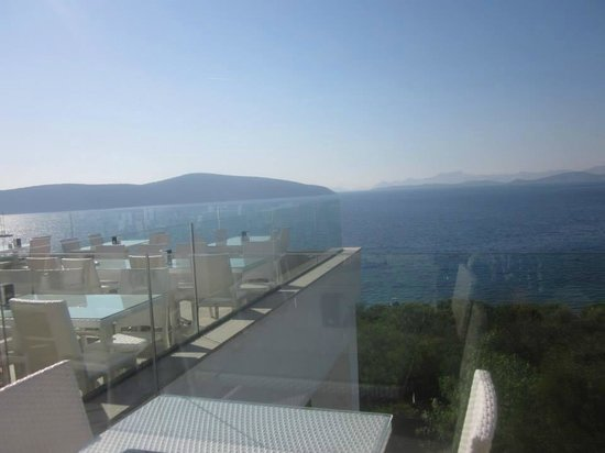 Bodrum Holiday Resort & Spa : View from dining area