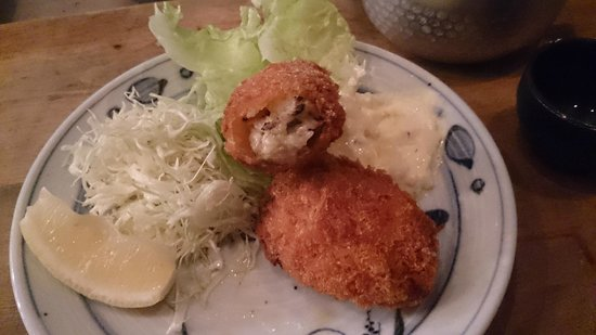Uosen, Hirooka : 牡蠣フライ580円