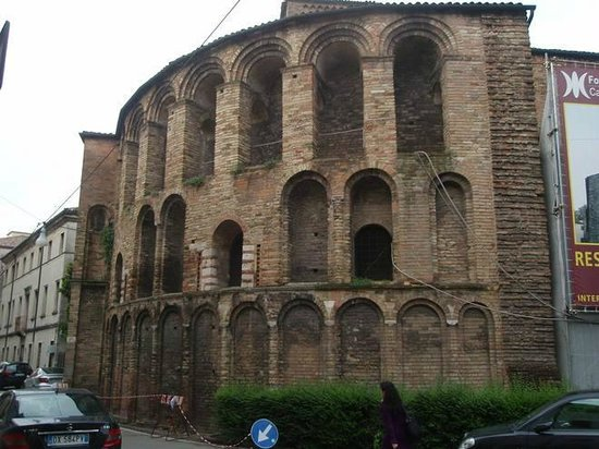 Chiesa di Santa Sofia : Retro della chiesa