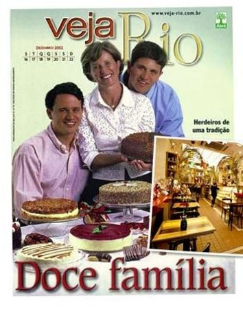 The Bakers: and Our Family - Cover of the most important Rio Magazine... Read to Know us better ....
