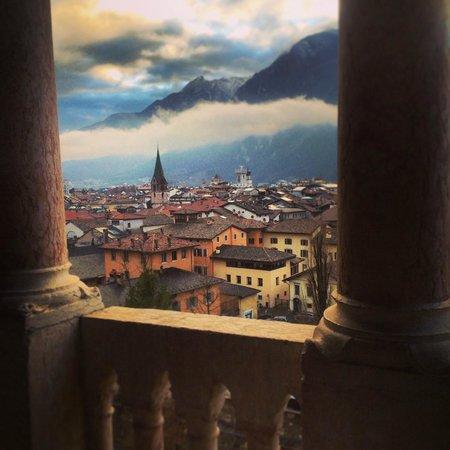 Castello del Buonconsiglio Monumenti e Collezioni Provinciali: Panorama from the terrace