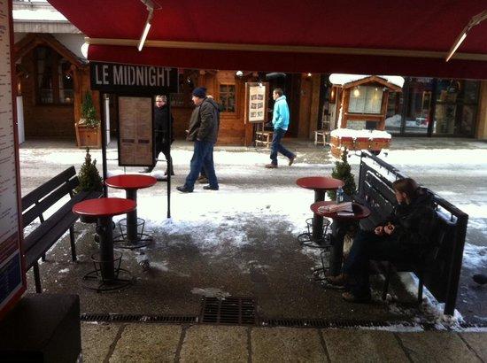 La Maison du Burger LMB: Terrasse Midnight 2014