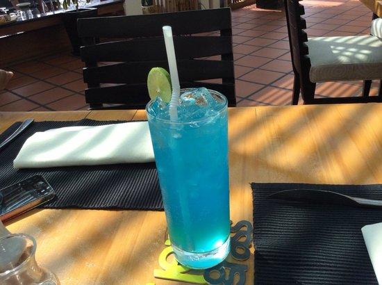 Sokha Beach Resort : lemongrass - the blue