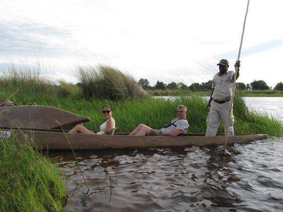Kanana Camp: Water activities, must try Mokoro
