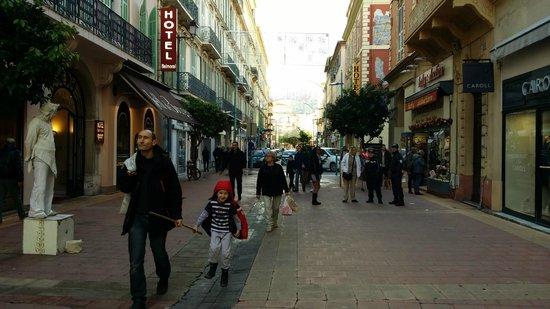 Belambra Clubs - Le Vendome: Rue piétonne