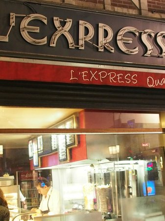 L'Express: don't miss the sign