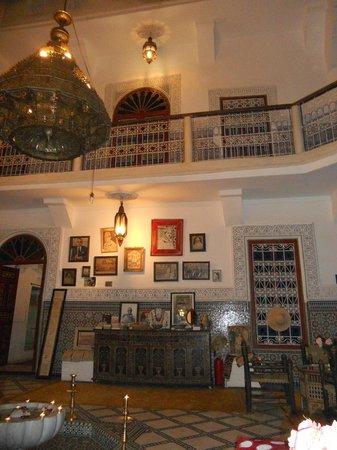 Riad Almoulouk : interieur