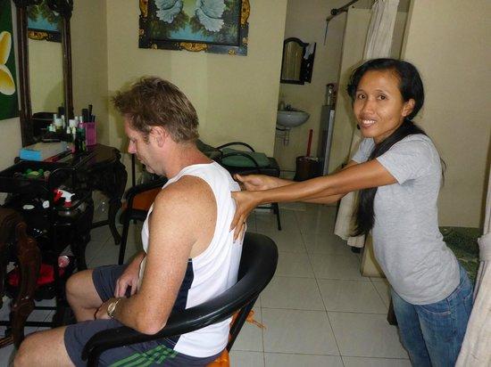 Sanur Beach: $30,000 Rp Massage for 30 minutes (AUS$3.00)