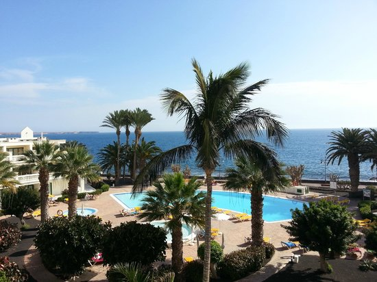 IBEROSTAR Lanzarote Park - TEMPORARILY CLOSED : View from room on 3rd floor circle B