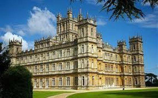 Highclere Castle aka Downton Abbey !