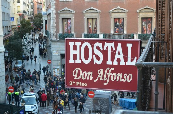Hostal Don Alfonso : View from room