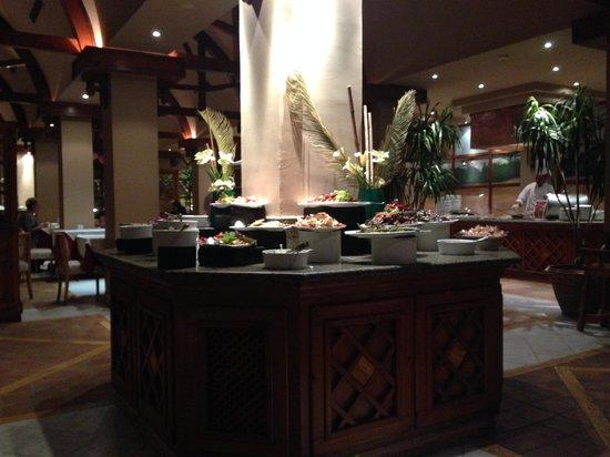 The Makadi Palace Hotel: So sieht das Essen zumeist aus...