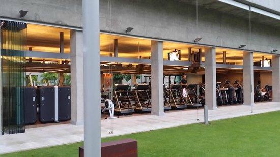 IBEROSTAR Grand Hotel Mencey: El Gym    Magnifico!!!
