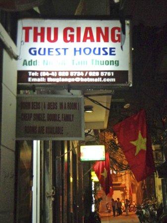 Thu Giang Guesthouse : Thu Giang Guest House