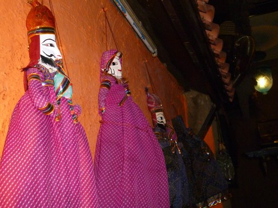 Desi Vibes: Puppets decoration