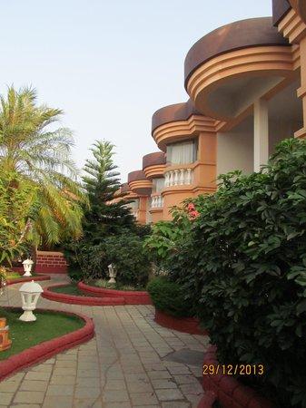 Lotus Beach Resort: територия