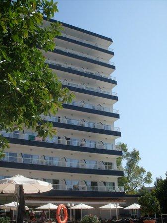 HSM Atlantic Park: hotel visto dalla stanza
