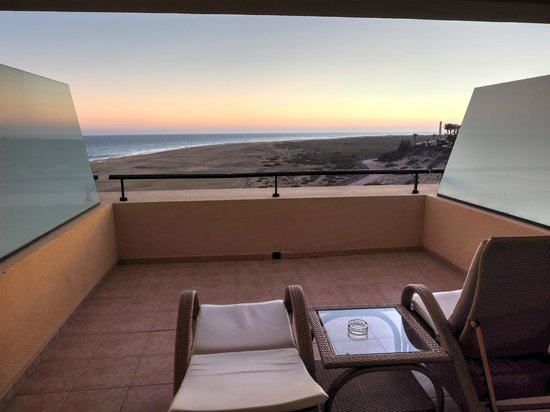 Iberostar Playa Gaviotas: View from our 'VIP' Sea View Room