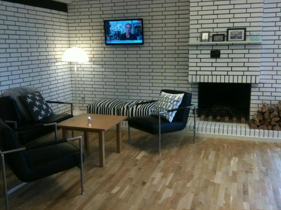 First Hotel Marina: Pejsestue - Lounge