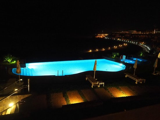 Iberostar Playa Gaviotas : View from our room at night