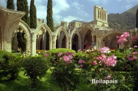 Kybele Restaurant & Bar : Bellapais Abbey next to the Kybele