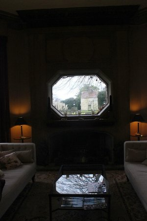 Priory Bay Hotel: The feature window in the Drawing Room