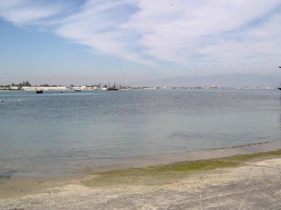 Lungomare spiaggia del Poetto