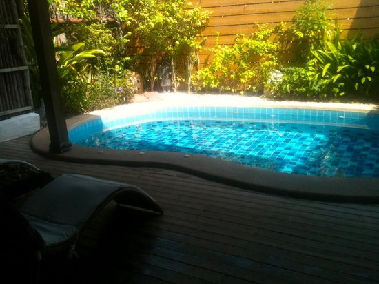 Baan Talay Chine: Happiness private pool