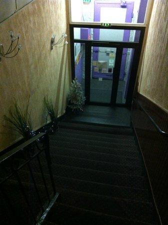 Hotel Lutia: Reception al 1° piano