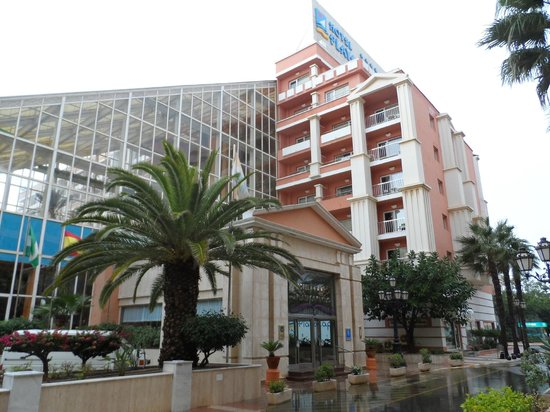 Playacapricho Hotel : Hotel buitenkant