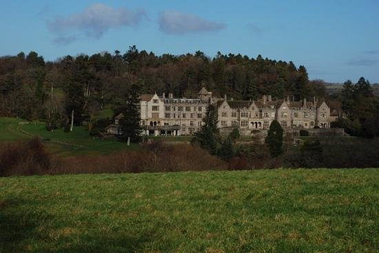 Bovey Castle Hotel : bovey castle from the walk to the pub!