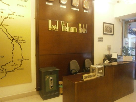 Real Hanoi Hotel : Reception area