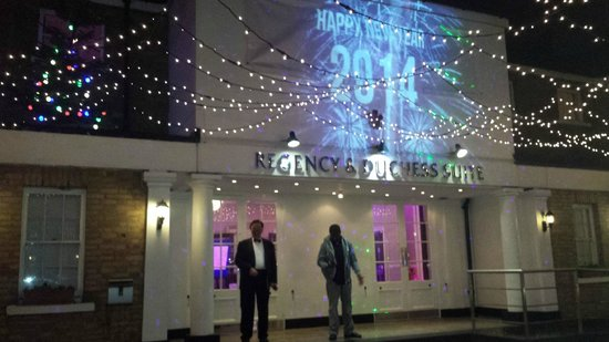 Hallmark Hotel London Chigwell Prince Regent : Celebrating the arrival of 2014