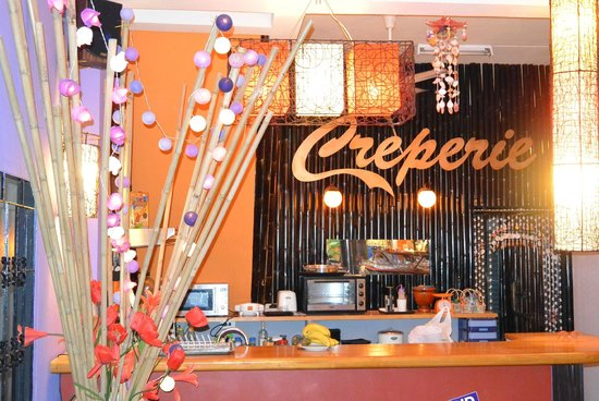 For You Guesthouse: coin creperie