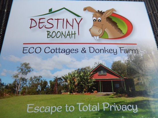 Destiny Boonah Eco Cottages and Donkey Farm: Destiny Boonah