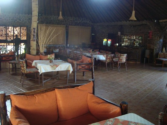 Osoita Lodge: restaurant